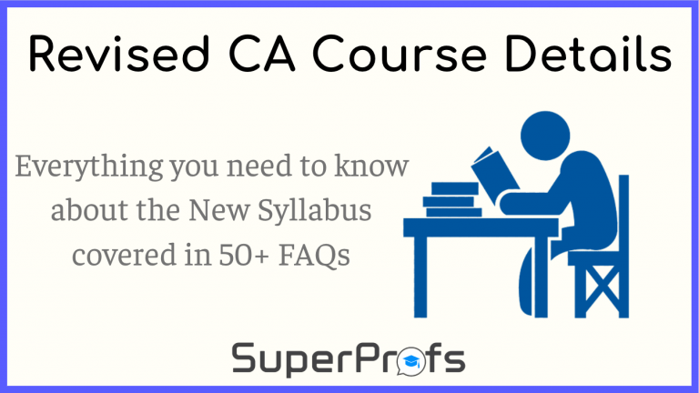 revised ca course details | ca new syllabus faq