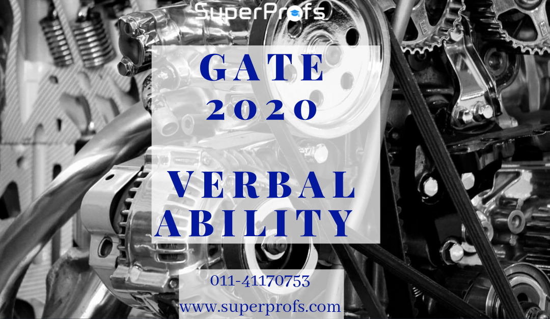 Verbal Ability for GATE 2020 | Score well in General Aptitude Section