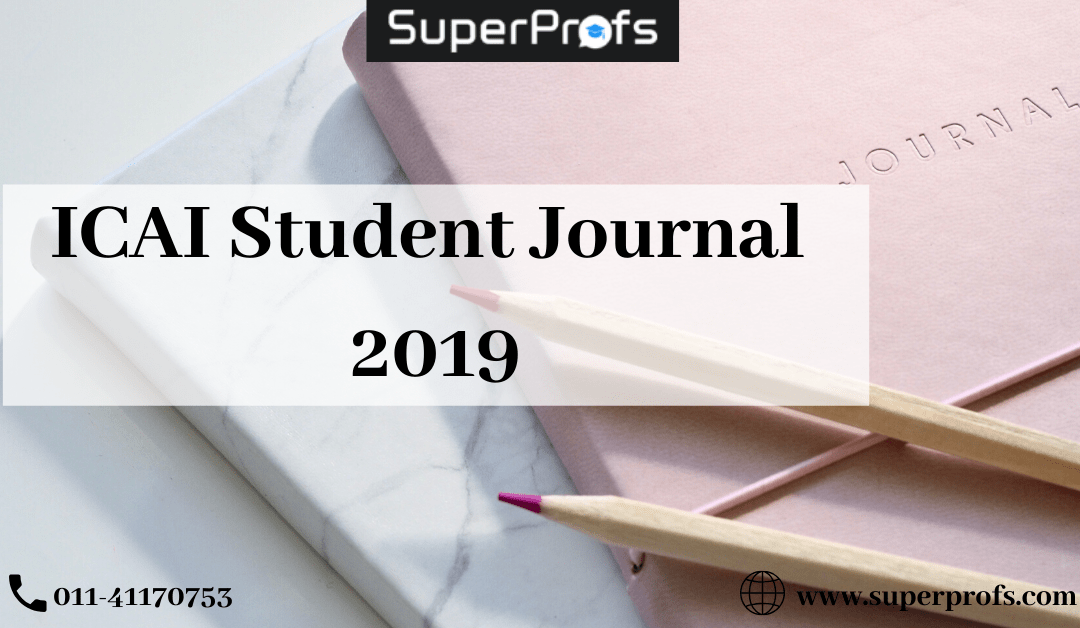 Download ICAI Student Journal 2019