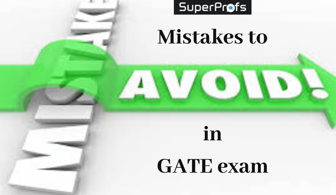 Common mistakes GATE Aspirants Make