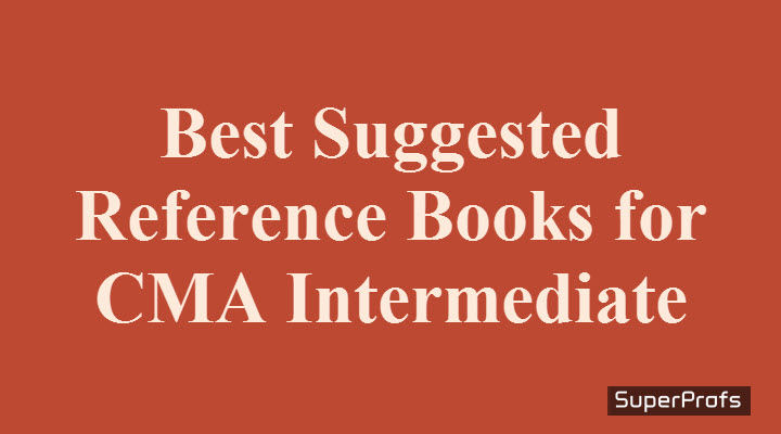 CMA Inter Reference Books