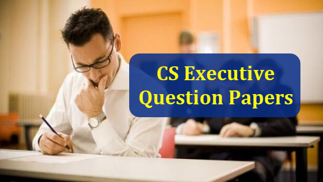 CS Executive Cost & Management Accounting Question Paper Dec 2018