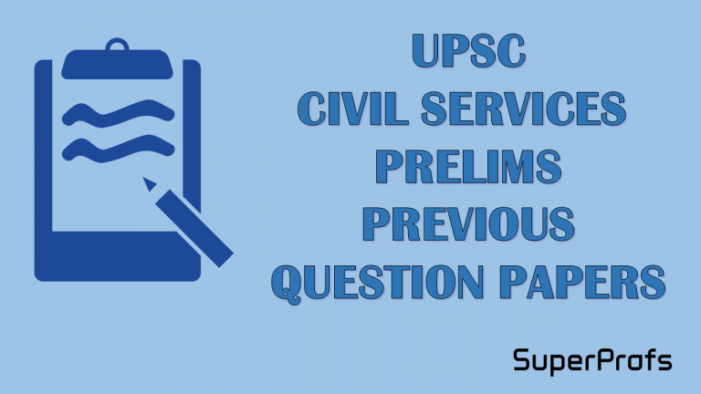 UPSC IAS Prelims Question Papers Last 5 years
