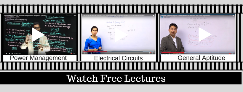 GATE EE Lectures