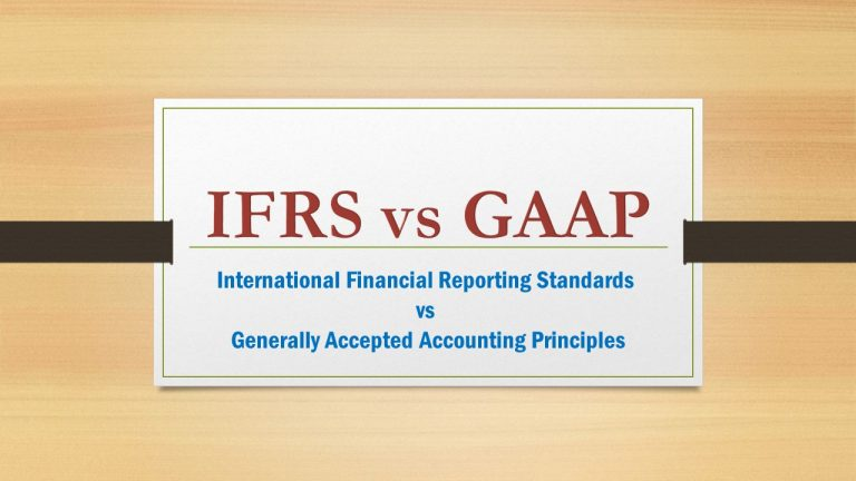 What are the difference between IFRS vs GAAP ?