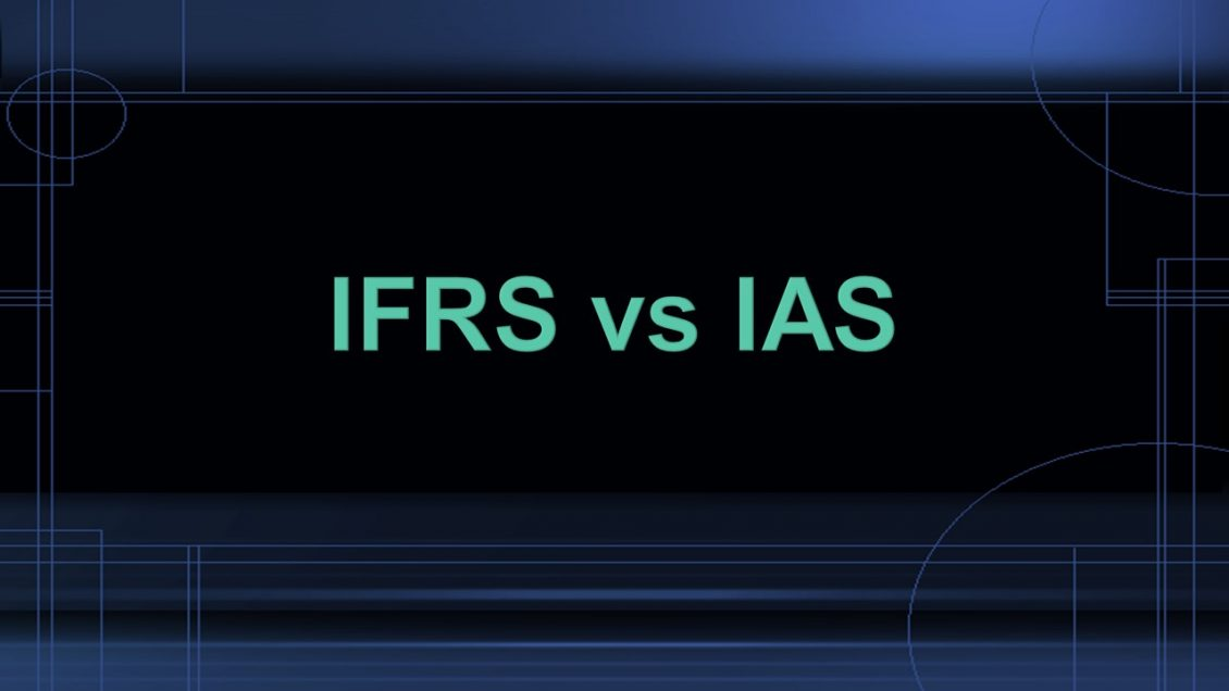 What is the difference between IFRS vs IAS ?