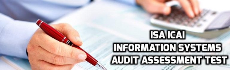 ISA ICAI Information Systems Audit Assessment dec 2017