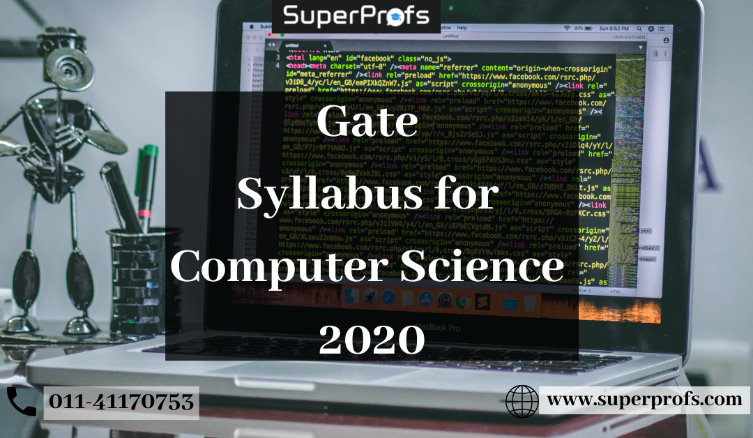 Gate Syllabus for Computer Science 2020 [Official] | GATE CS Syllabus