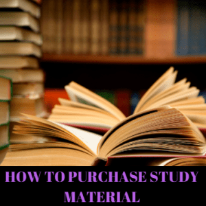 How to Purchase CS Study Material | Foundation, Executive and Professional