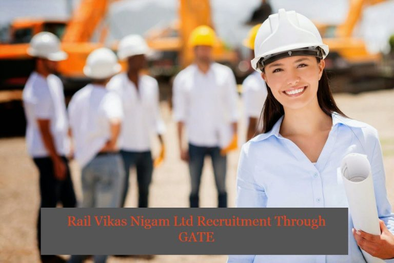 Rail Vikas Nigam Ltd Recruitment Through GATE