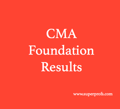 CMA Foundation Results June 2019