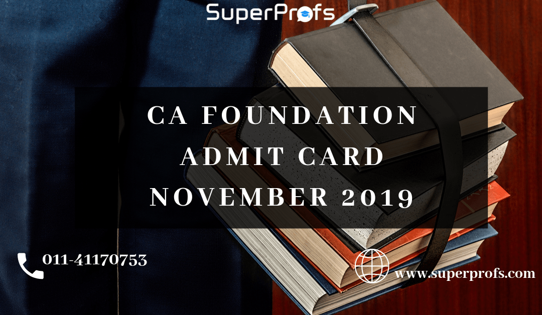 (Released) CA Admit Card November 2020 – Download ICAI Admit Card