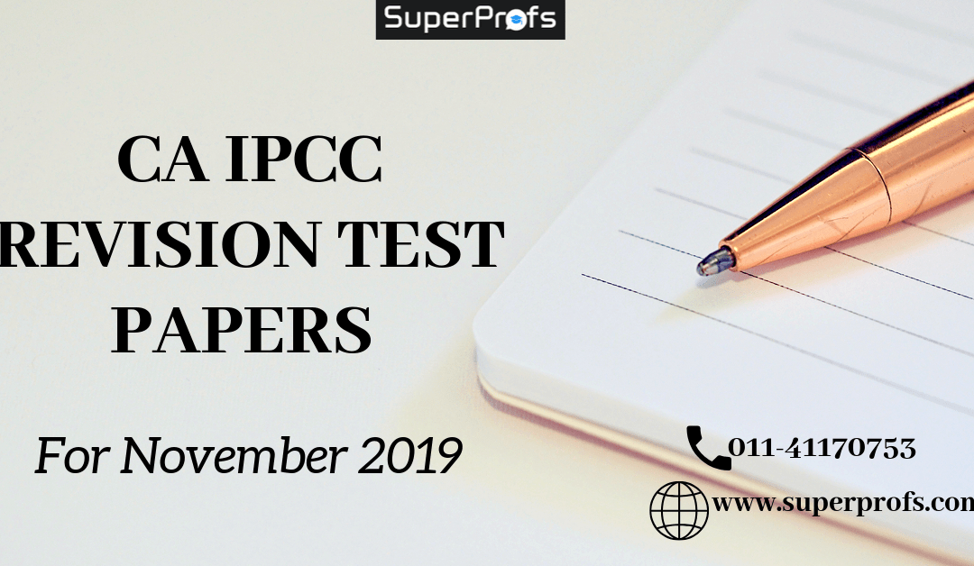 CA IPCC RTP November 2019 | Download Revision Test Papers