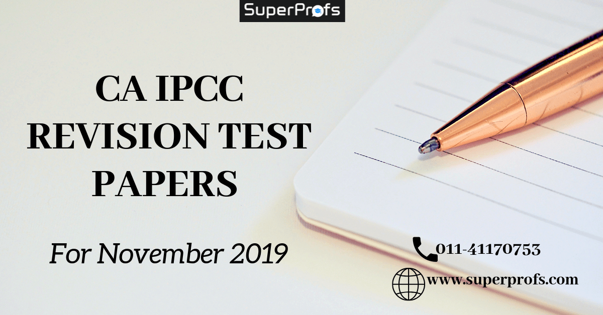 CA IPCC RTP Nov 2019 - Download Revision Test Papers