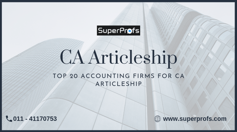 Top 20 Accounting Firms for CA Articleship