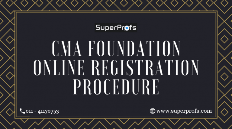 CMA Foundation Online Registration