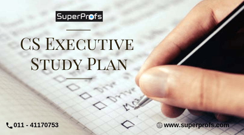 cs executive study plan