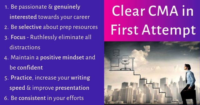 Clear CMA First Attempt 2020