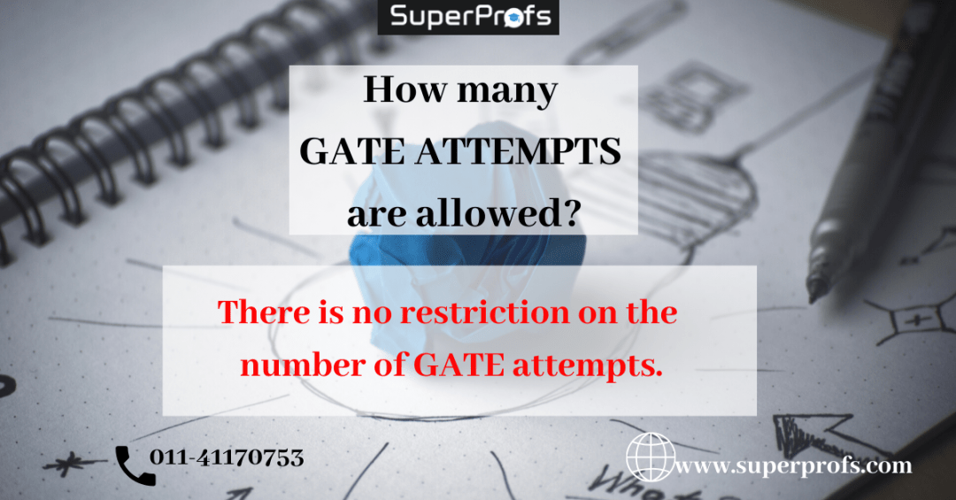 ATTEMPTS for GATE 2020