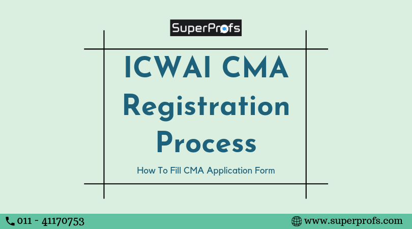 ICWAI Registration Process | How to fill CMA Application form