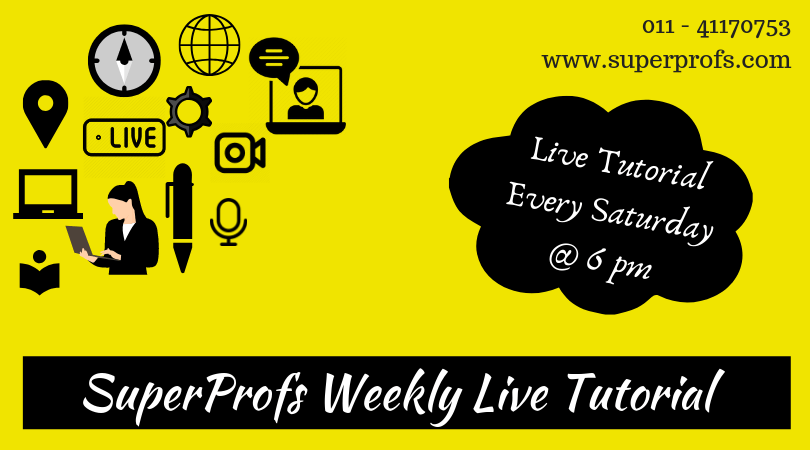 SuperProfs Weekly Live Tutorials – Recordings for Students with Paid Subscriptions