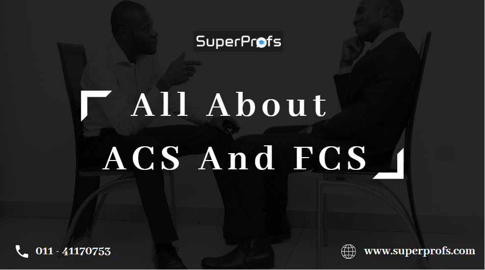 All About ACS and FCS Title