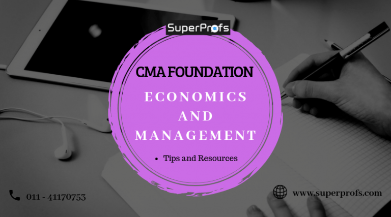 cma foundation economics and management