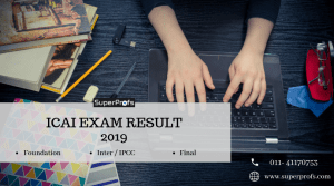 ICAI EXAM RESULT JUNE 2019
