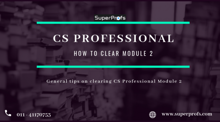cs professional module 2 exam tips
