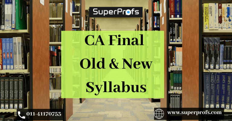 CA Final Syllabus
