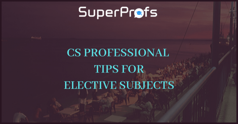 Tips for elective subject