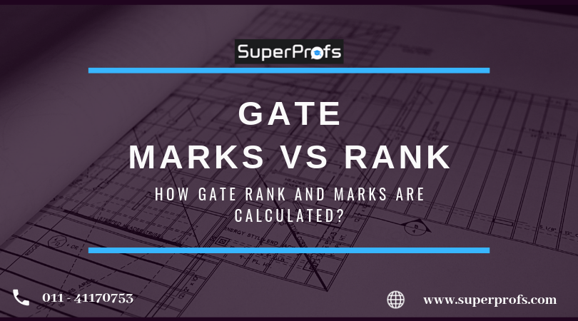 GATE MARKS vs RANK