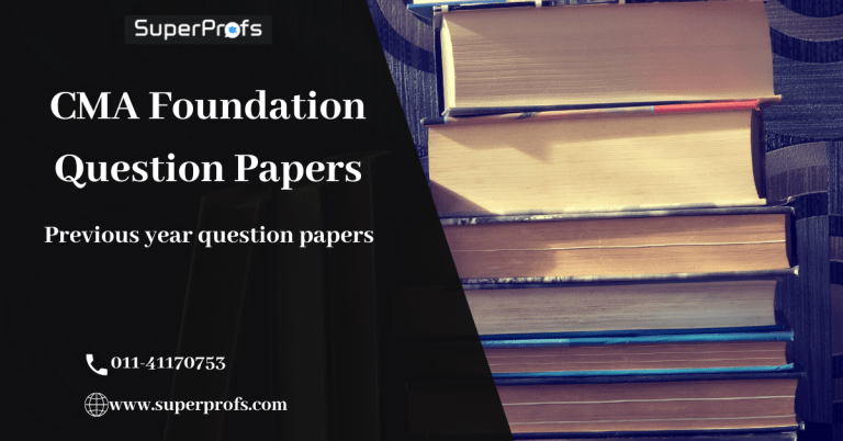 CMA Foundation Question Paper