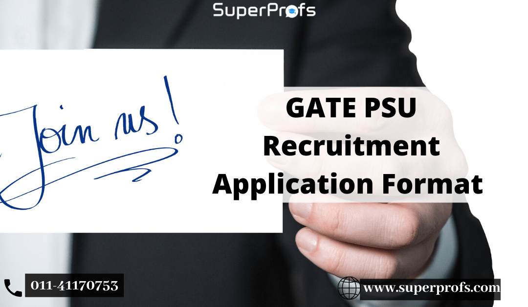 PSU Application Format | GATE-2020