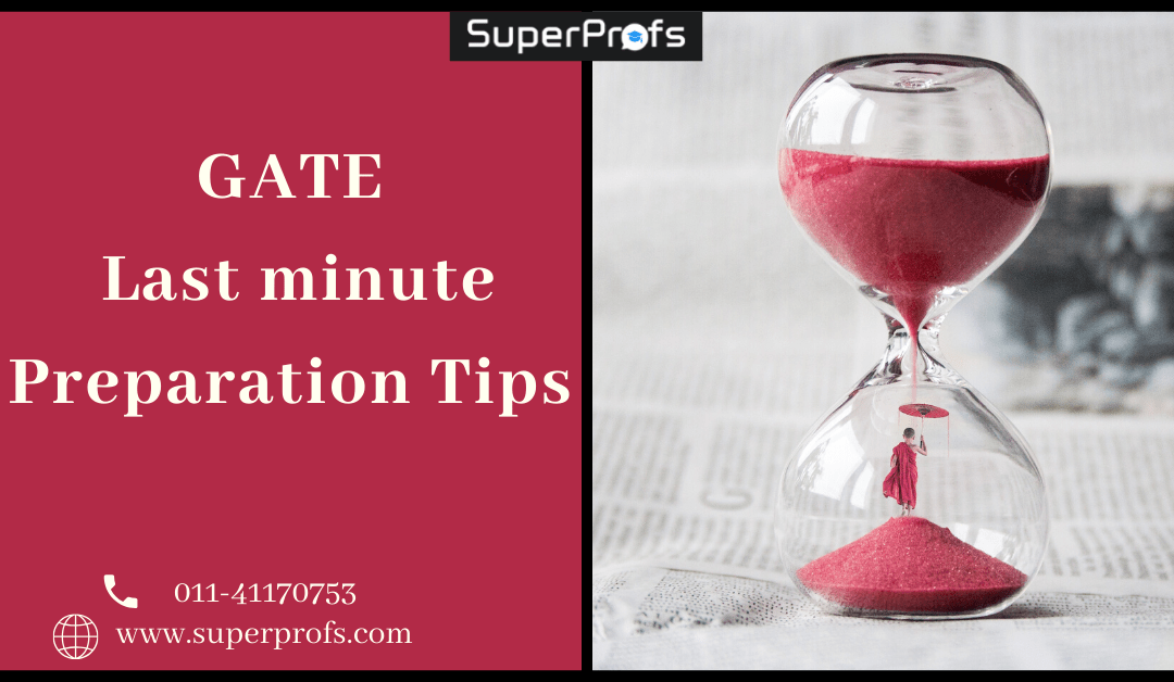 GATE last minute preparation tips for 2020 exam