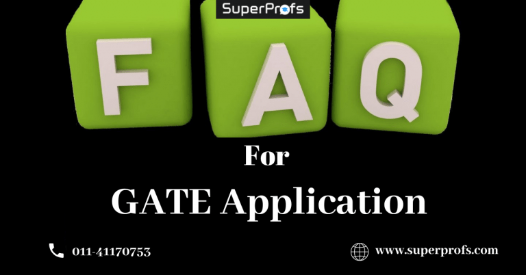 faqs for GATE Login