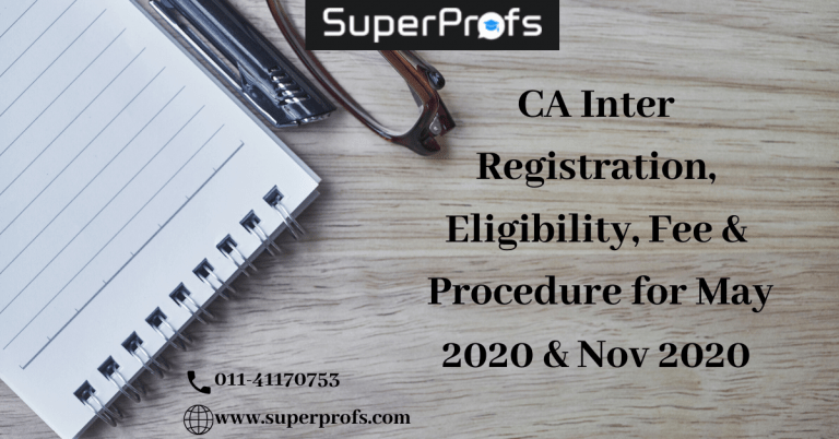 CA inter registration