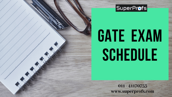 GATE 2020 Exam Schedule