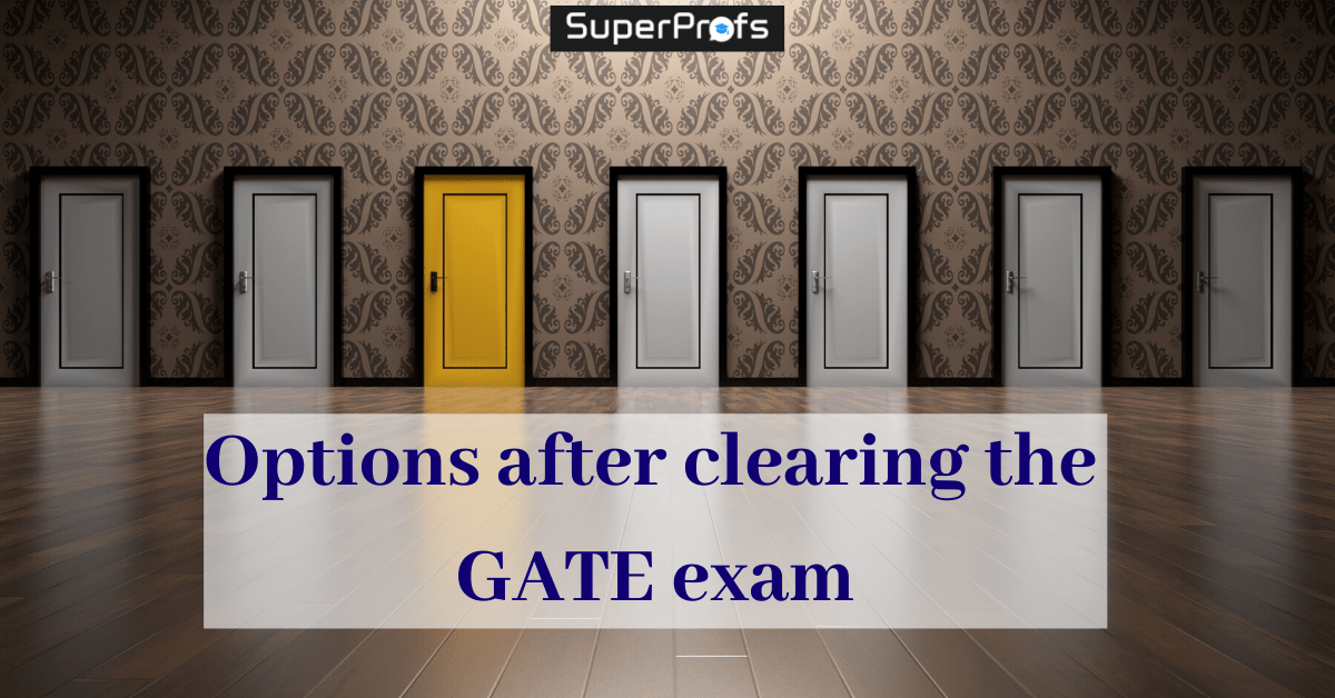 options after gate exam
