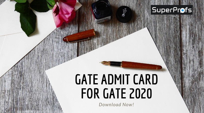 (Out Now) Download GATE Admit Card 2020