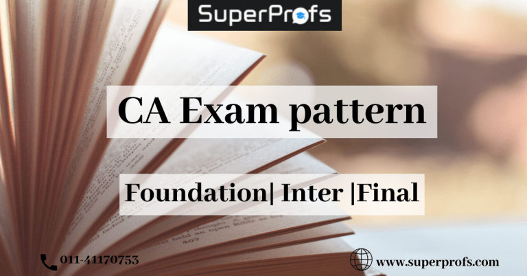 ca exam pattern
