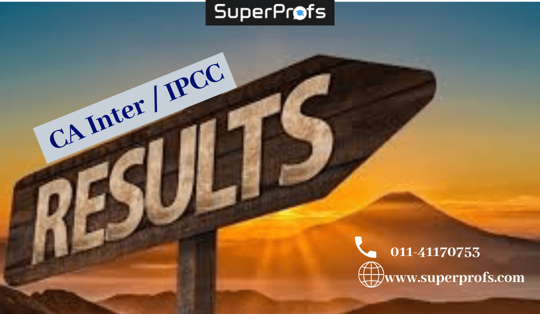 CA Inter / IPCC Results Date November 2019 – ICAI official