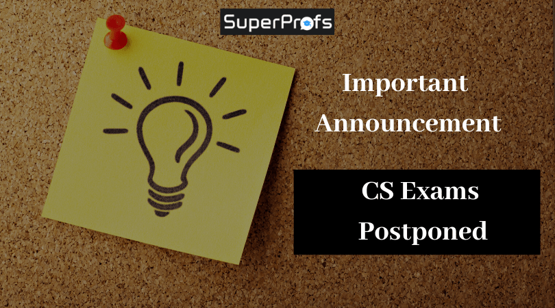 {Imp Announcement}-CS exams postponed at all centers across the country