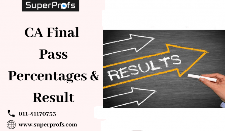 CA Final Pass Percentages & Result