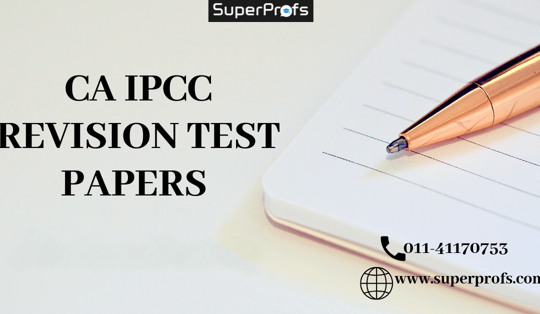 CA IPCC RTP for Nov 2020 | Download Revision Test Papers