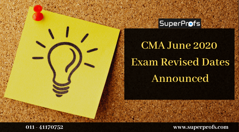 ICMAI announces new exam dates for June 2020 attempt