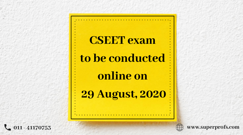 CSEET to be conducted online on 29 August, 2020 – ICSI notification
