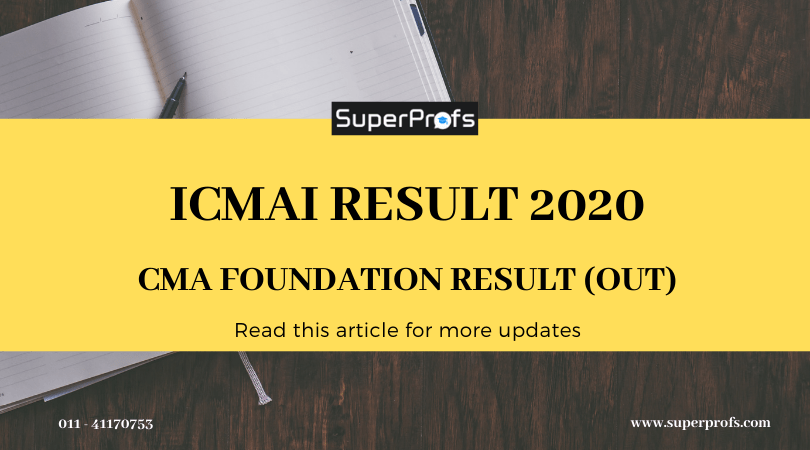 ICMAI Result 2020 –  Foundation Result (OUT)