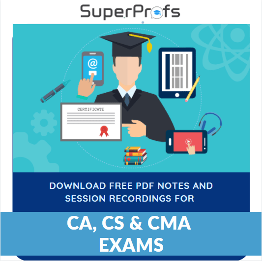Download the Free PDF Notes and sessions recording for CA, CS and CMA Exams