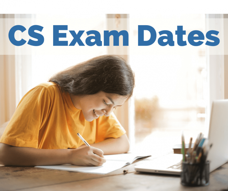 ICSI CS exam Dates 2021